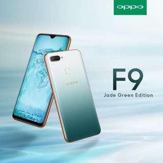 Oppo F9 JADE GREEN LIMITED