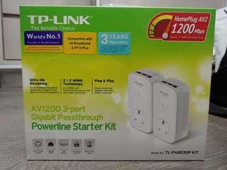 TP-Link AV1200 3 port Gigabit passthrough kit