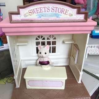 sylvanian sweet shop ( 💯 authentic)