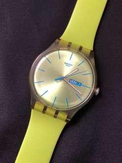 Swatch unisex quartz watch