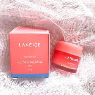 Laneige lip sleeping mask berry full size 20 gr