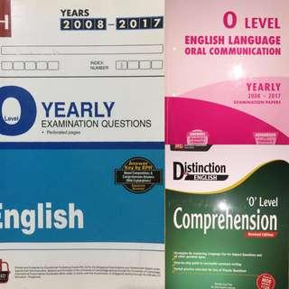 English Ten Year Series, Oral TYS, Comprehension guide