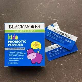 BNIB BLACKMORES KIDS PROBIOTIC POWDER - 20 sachets
