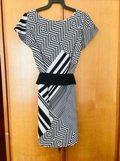 Guess Marciano Monochrome Dress