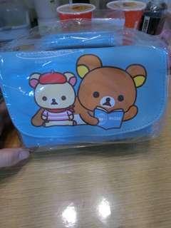拉拉熊包 可當鉛筆盒 化妝包 小朋友包包 可當夾娃娃機商品