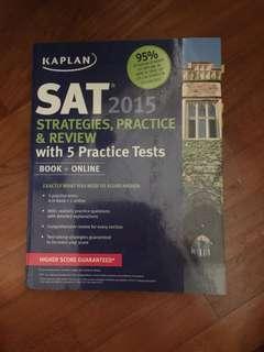 Kaplan SAT 2015
