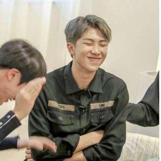 LF/WTB BTS RM Kim Namjoon Fansite Seasons Greetings / Calendar 2019