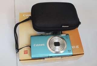 Canon Digital Camera PowerShot A2400 IS (power shot Nikon Cybershot Fujifilm Cyber shot Sony SD tripod travel Memory card)