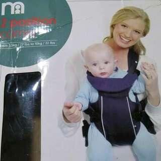 [Clearance/ Sales] Mothercare 2 Position Baby Carrier