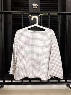 Grid White Top