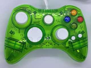 Xbox 360 Afterglow controller green