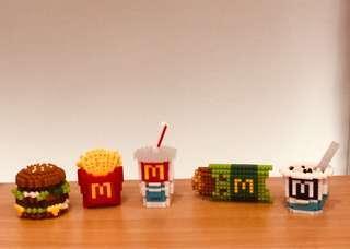 絕版-麥當勞套餐模型