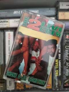 "The 2 Live Crew ""shake a lil something"" 1995 kaset cassette"