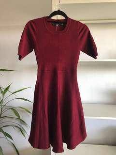 BRAND NEW Princess Polly Red Knit Dress