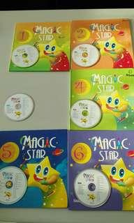🚚 Magic star 幼兒園英語學習系列+CD