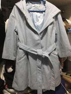 韓國購入天藍色長外套