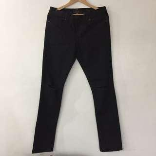 21 Men Black Denim Pants
