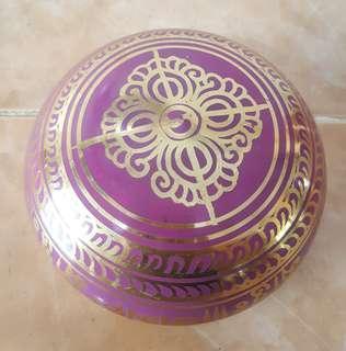 Brass Buddhist singing bowl