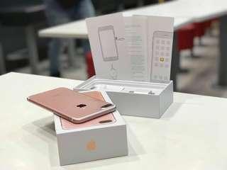 iPhone7plus 32gb Rosegold OPENLINE.