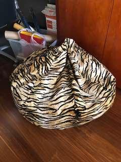 Bean bag animal print