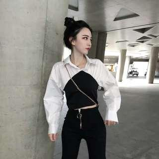 🚚 [PO] Ulzzang Collared Blouse