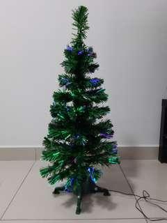 Spotlight Fibre Optic Christmas Tree 90cm