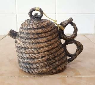 Oriental ceramic teapot