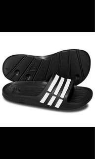 Brand New Authentic Adidas Sliders Black Flip Flop Slippers