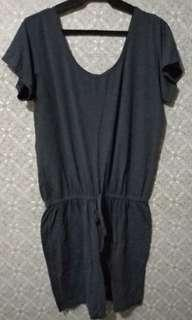 Plus Size Romper,  also available in Black and Navy Blue