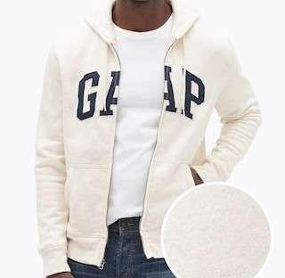 Men's GAP Logo Zip Hoodie