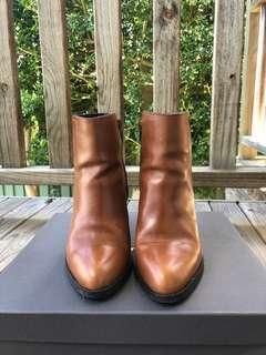 Urban Soul Tan Ankle Boots