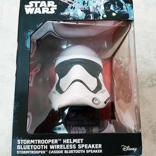 (U.P. $99) Star wars stormtrooper helmet bluetooth wireless rechargeable portable speaker