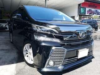 Unregistered - Toyota Vellfire 2.5 Z-spec - 8 seater