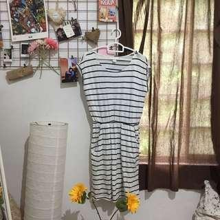 H&M Striped Dress w/ Pockets