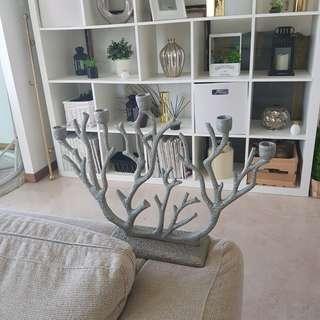 Coral Designed Candles Holder