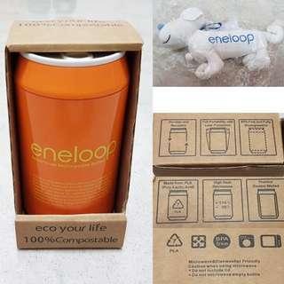 $10 Panasonic Eneloop Thermal water bottle / flask + $2 recycle bag dog shape sale
