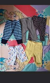 Pants for baby girls
