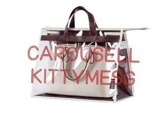 Luxury Bag Transparent Dust Prevention Cover