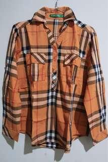 Preloved Baju Kemeja POINT ONE ORIGINAL