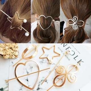 🚚 ✓ Instock Slot In Hair Clip