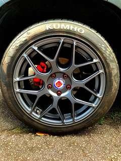 Car 18' inch rims plus Tyre