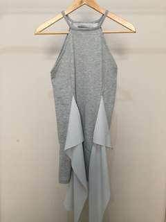 Manequeenplastic Grey Mini Dress