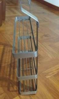 IKEA 3 tier Metal Rack / Kitchen Wall Organizer