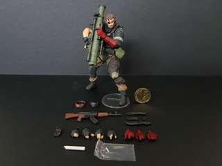 Revoltech Mini Metal Gear Solid V - Venom Snake