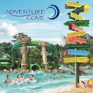 🚚 Adventure Cove Waterpark tickets adult open date acw