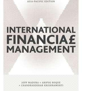 International Financial Management Asia Pacific Edition
