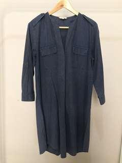Et Cetera Navy Dress