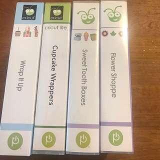 Cricut Cartridges - packaging