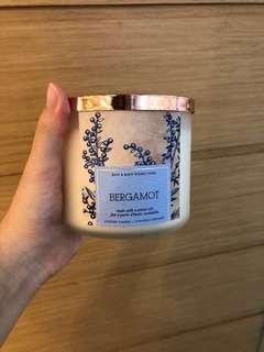 Bath and Body Works 3-Wick Candle in Bergamot