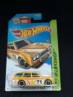 Datsun Bluebird Wagon US Card